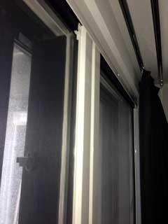 シティタワーズ豊洲ザ・ツインのテラス窓