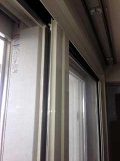 ブリリア有明スカイタワーのテラス窓
