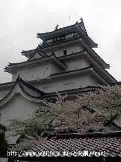 鶴ヶ城の天守閣
