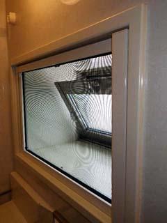 横引きロール網戸窓用